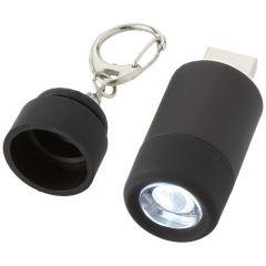"Llavero linterna LED USB recargable ""Avior"""
