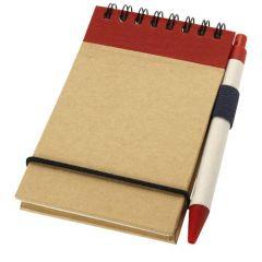 "Bloc de notas A7 de papel reciclado con bolígrafo ""Zuse"""