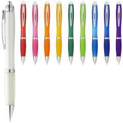 """Bolígrafo de color con empuñadura de color """"Nash"""""""