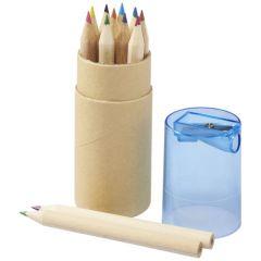 """Set de 12 lápices de colores con sacapuntas """"Hef"""""""