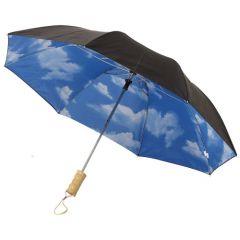 """Paraguas plegable automático de 21"""" """"Blue skies"""""""