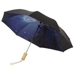 "Paraguas plegable automático de 21"" ""Clear-night"""