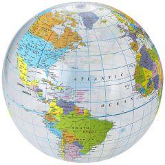 """Pelota de playa transparente """"Globe"""""""