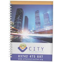 Cuaderno A4 con anillas de alambre y cubierta de PP Desk-Mate®