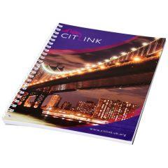 Cuaderno A5 con anillas de alambre Desk-Mate®