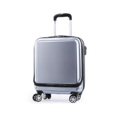 Trolley Kleintor Rígido. 4 Ruedas Giratorias. Bolsillo Acolchado para Portátil. Cierre Seguridad TSA Incluido ABS