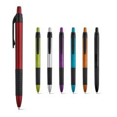 CURL. Bolígrafo con acabado metalizado