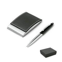 MURPHY. Set de bolígrafo y tarjetero