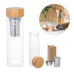 MAKAROVA. Botella con infusores de 490 ml