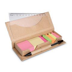 Set de oficina en caja cartón