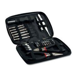 Tool set in aluminium case