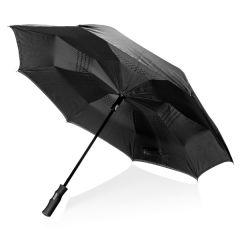 "Paraguas automático reversible 23"" Swiss Peak"