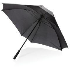 """Paraguas cuadrado manual con logotipo XL de 27"""""""