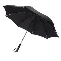 """Paraguas LED de apertura/cierre manual de 23"""""""