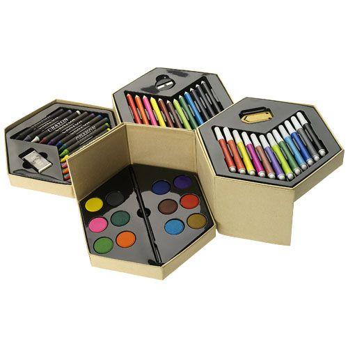 """Set para colorear de 52 piezas """"Pandora"""""""