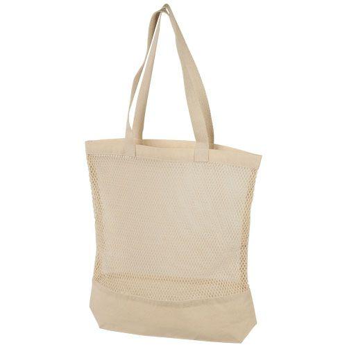 "Bolsa de compras de algodón de malla ""Maine"""