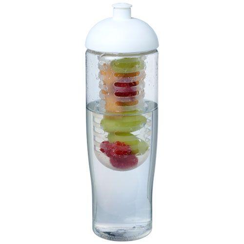 H2O Tempo® Bidón deportivo e infusor con Tapa Dome de 700 ml