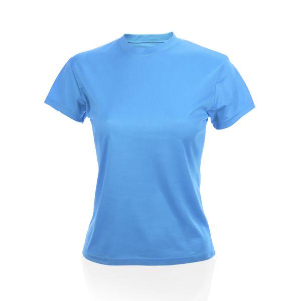 Camiseta Mujer Tecnic Plus Transpirable. Tallas: S, M, L, XL 100% Poliéster 135 g/ m2