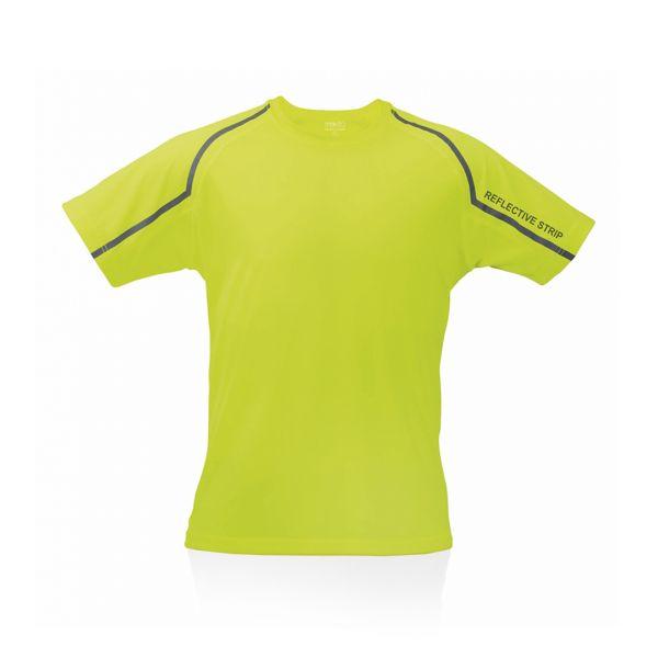 Camiseta Adulto Tecnic Fleser Transpirable. Tallas: S, M, L, XL, XXL 100% Poliéster 135 g/ m2