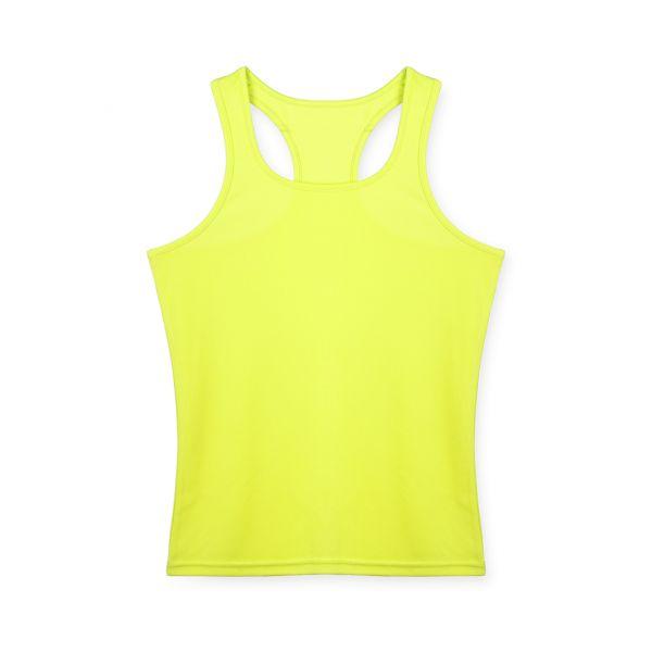 Camiseta Mujer Tecnic Lemery Transpirable. Tallas: S, M, L 100% Poliéster 135 g/ m2