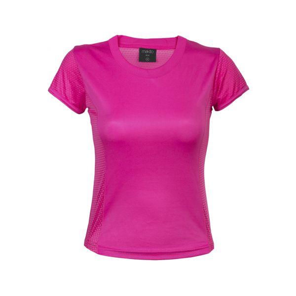 Camiseta Mujer Tecnic Rox Transpirable. Tallas: S, M, L, XL 100% Poliéster 135 g/ m2