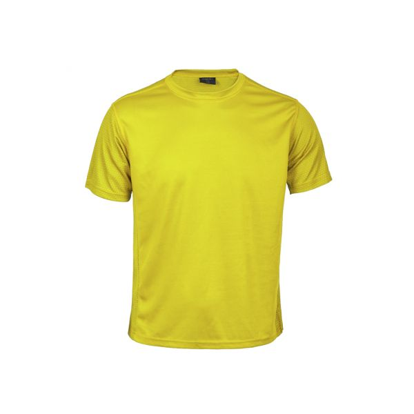 Camiseta Niño Tecnic Rox Transpirable. Tallas: 4-5, 6-8, 10-12 100% Poliéster 135 g/ m2
