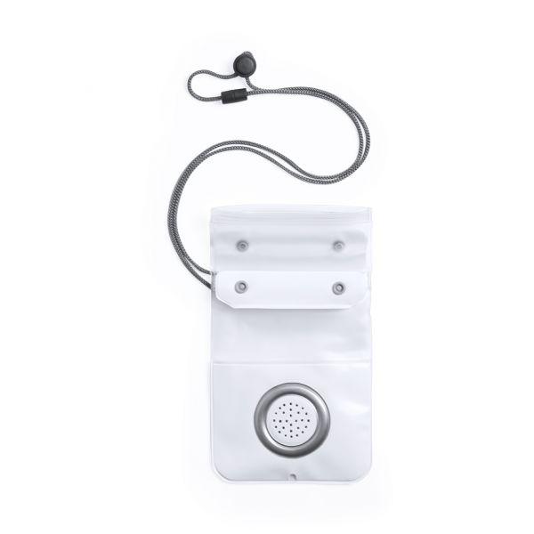 Portatodo Altavoz Livion Conexión Bluetooth. Potencia 1.1W. Recargable USB. Impermeable. Pantalla Táctil. Cable Incluido PVC