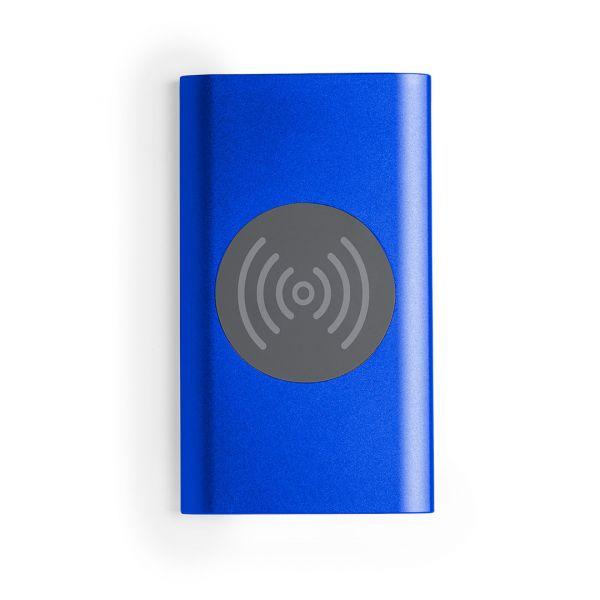 Power Bank Tikur Inalámbrico. 4000 mAh. Salida USB. Entrada Micro USB. Cable Incluido Aluminio