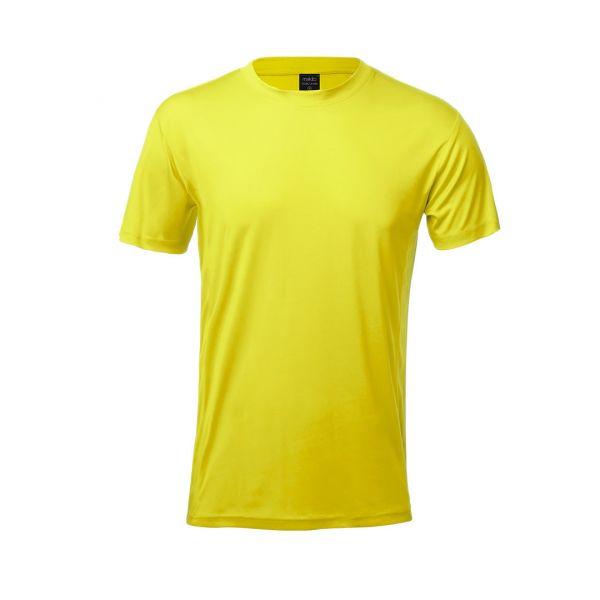 Camiseta Adulto Tecnic Layom Transpirable. Tallas: XS, S, M, L, XL, XXL Poliéster/ Elastano 135 g/ m2