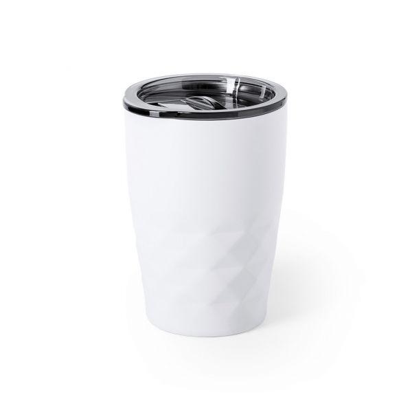 Vaso Térmico Blur 350 ml. Aislamiento de Cobre al Vacío. Presentación Individual Acero Inox