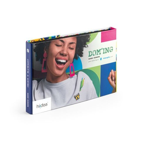 PIN & DOMING SHOWCASE. Muestrario 2 en 1 de Pins&Domings
