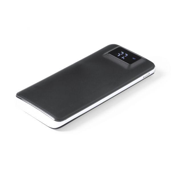 Power Bank Tormund 1 Led. 5000 mAh. 2 Salidas USB. Entrada Micro USB. Cable Incluido