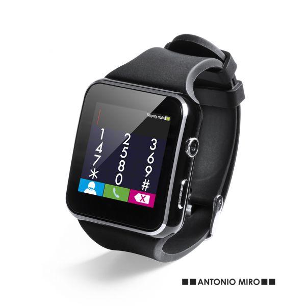 """Reloj Inteligente Kesford Conexión Bluetooth. Pantalla LCD 1,44"""". Multilenguaje. Recargable USB. Cable Incluido Correa TPU"""