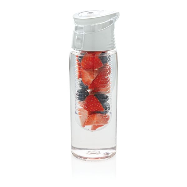 Botella infusor con cierre